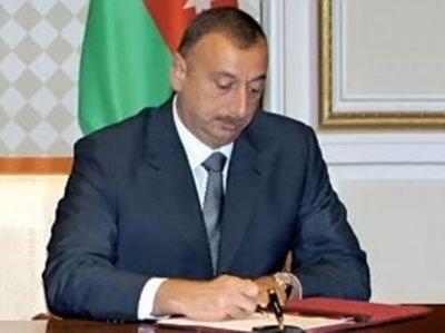 President Ilham Aliyev signed an Order