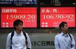 Asian shares mixed, dollar rallies after Wall St surge