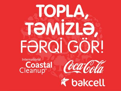 Bakcell joined the International Coastal Cleanup Day