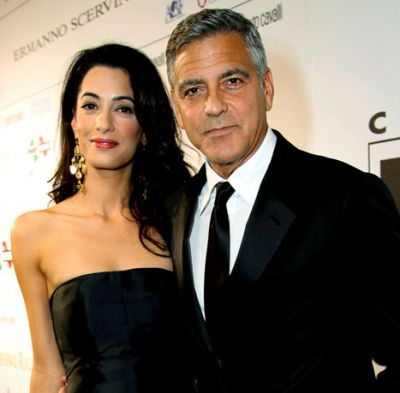 Clooney and Alamuddin's wedding preperations