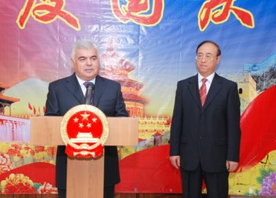 China`s national holiday marked in Azerbaijan