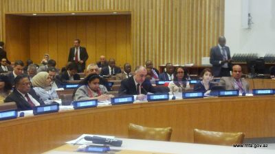 Elmar Mammadyarov at the Annual Coordination meeting of the Foreign Ministers of the Organization of Islamic Cooperation Member States