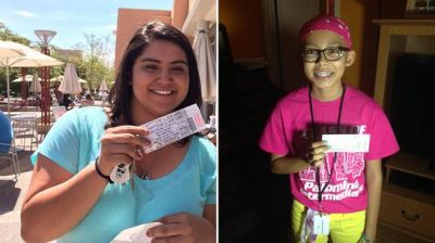 Woman donates sold out concert tickets to young cancer patient