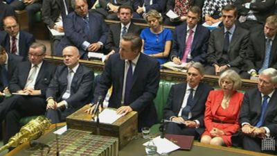 British Parliament approves airstrikes in Iraq