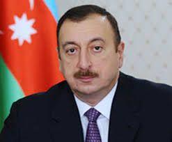 President Ilham Aliyev visited a statue of national leader Heydar Aliyev in Astrakhan