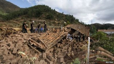 Earthquake kills eight in Andes village in Peru