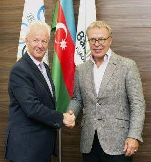 Legendary athlete praises Baku 2015 European Games progress