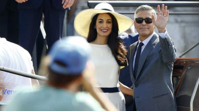 Clooneys make it official at civil ceremony PHOTO