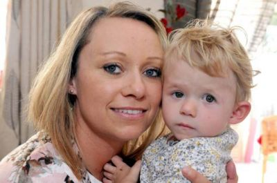 Baby makes amazing recovery after having skull broken in pieces