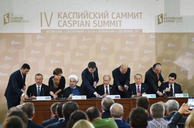 Five-sided documents were signed in Astrakhan