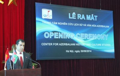 Azerbaijani History and Culture Research Centre opens in Vietnam