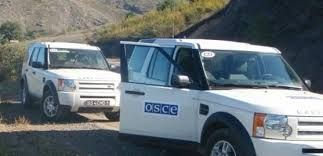 OSCE conducts monitoring on the contact line