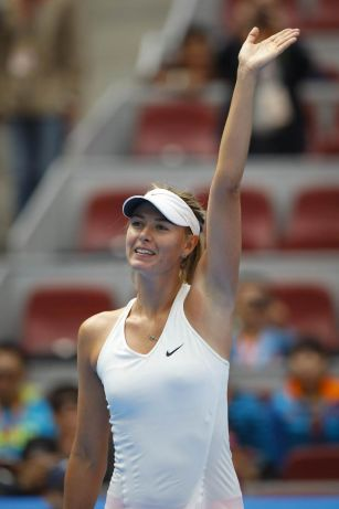 Sharapova rolls into third round at China Open