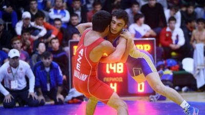 Azerbaijan wrestling team rank 2nd at international tournament