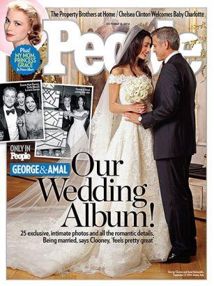 Clooney's wedding details