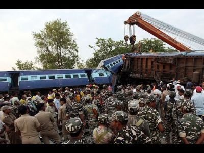 At least 12 people killed after 2 trains collide in India