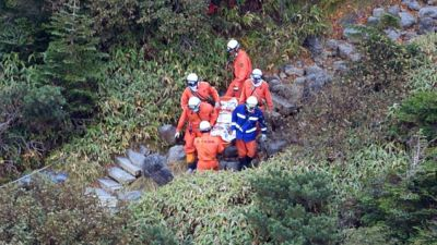 More bodies found at summit of Japan volcano