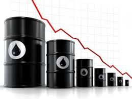 Oil price falls in world markets