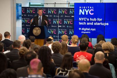 IBM starts online hub for NYC tech firms