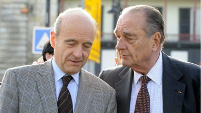 Chirac snubs Sarkozy by endorsing rival Juppé for presidency