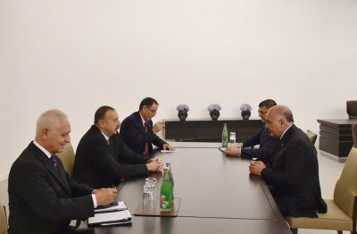 Ilham Aliyev received Deputy PM of Turkmenistan Sapardurdu Toyliyev