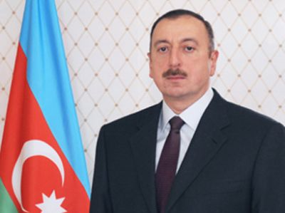 President Ilham Aliyev attends the opening of Heydar Aliyev Center in Khirdala