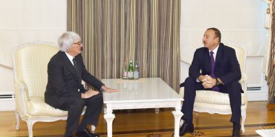 Azerbaijani President received the CEO of Formula One Group