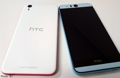 HTC launches selfie smartphone