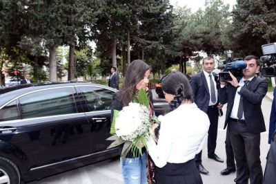 Leyla Aliyeva visited School for children with restricted health condition  PHOTO
