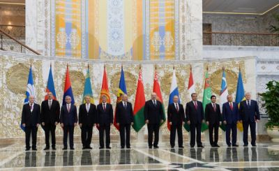 President Ilham Aliyev attended a meeting of the CIS Council of Heads of State PHOTO