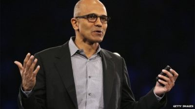 Microsoft's Nadella sorry for women's pay comments