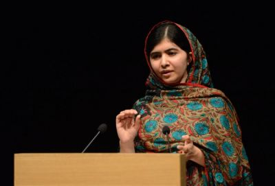 This award is for all those children who are voiceless, Malala says