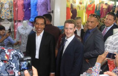 Zuckerberg presses Indonesian leader on web access