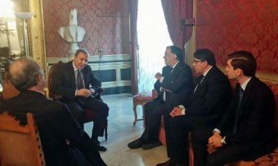 Vagif Sadigov meets Mayor of Palermo