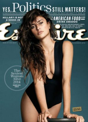 "Esquire names Penelope Cruz ""sexiest woman alive"" PHOTO"