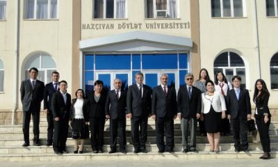 Korean Ambassador to Azerbaijan visits Nakhchivan State University