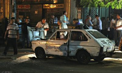 Cairo rocked by bomb blast after Islamic militants sentenced to death