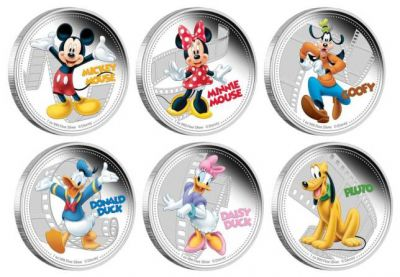 Disney coins released