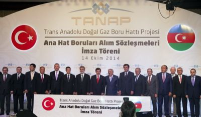 Major supply contract signed for TANAP gas pipeline