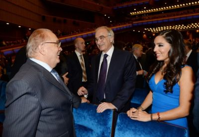 Leyla Aliyeva attended a gala concert at State Kremlin Palace