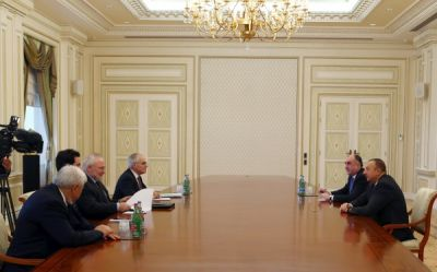 President Ilham Aliyev received the co-chairs of the OSCE Minsk Group