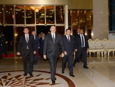 Official welcoming ceremony for President Ilham Aliyev was held in Dushanbe