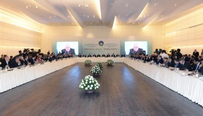"Baku hosts conference on ""Baku-Tbilisi-Kars railway line - new opportunities for the development of the historical Great Silk Road"""