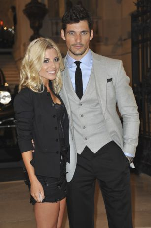 David Gandy confirms his relationship with Mollie King