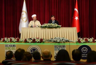 Davutoglu rules out one-sided talks in solution process