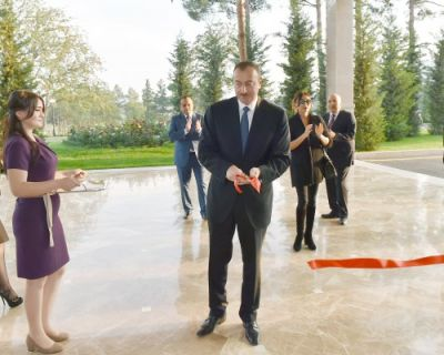 "Ilham Aliyev attended the opening of ""Qarabağ SPA and Resort"" hotel complex"