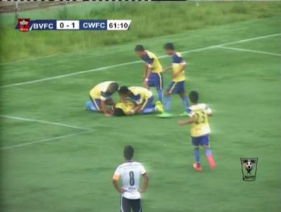 Footballer dies after somersault goal celebration goes wrong  VIDEO