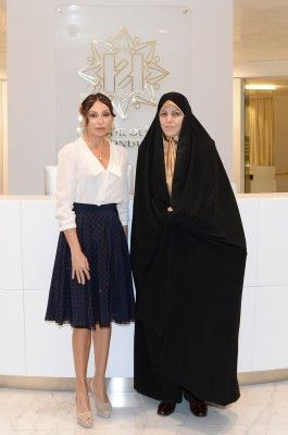 Mehriban Aliyeva meets Iranian Vice-President for Women and Family Affairs