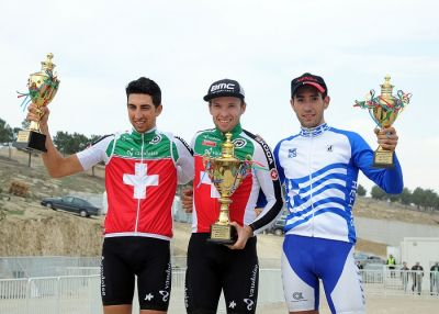 Switzerland and Ukraine triumph at Baku 2015 European Games  Mountain Bike Test Event