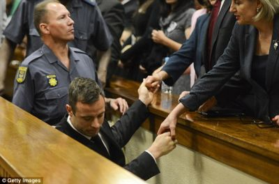 5 years in prison for Oscar Pistorius